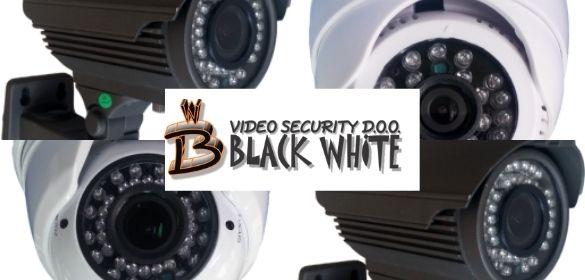 Black White Zrenjanin Prodaja sistema za video nadzor
